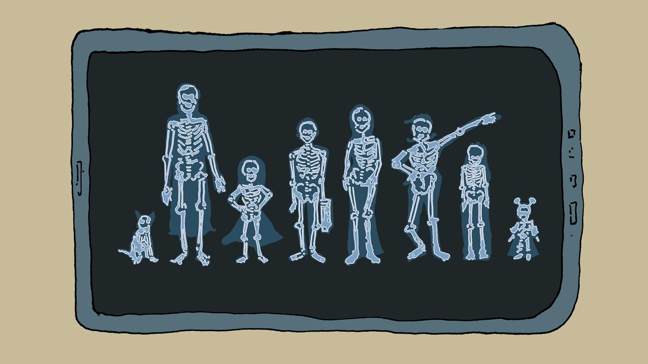 our bones,