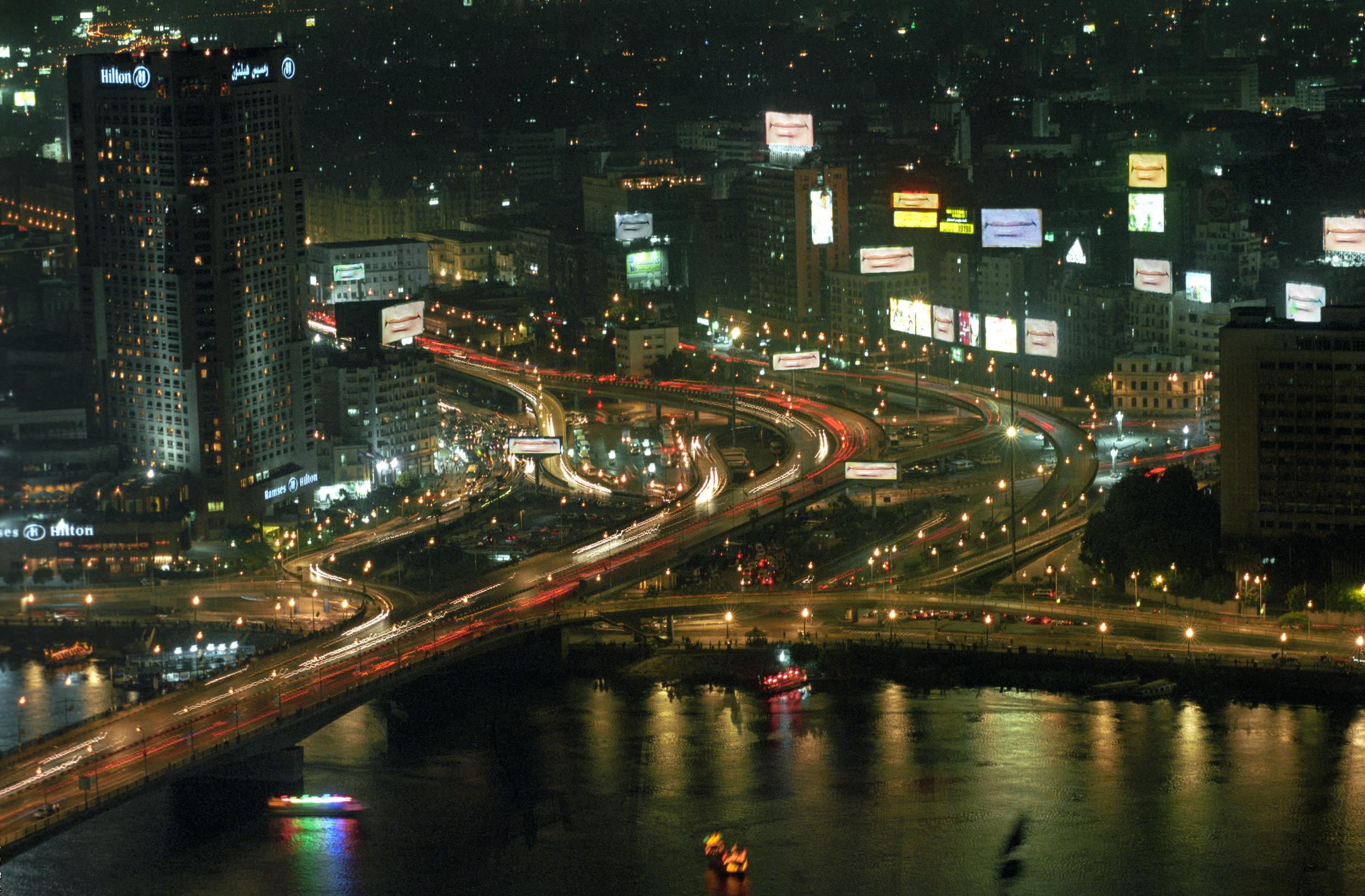 Cairo at Night, Domestic Tourism I series,2005,C-print,75 x 50 cm
