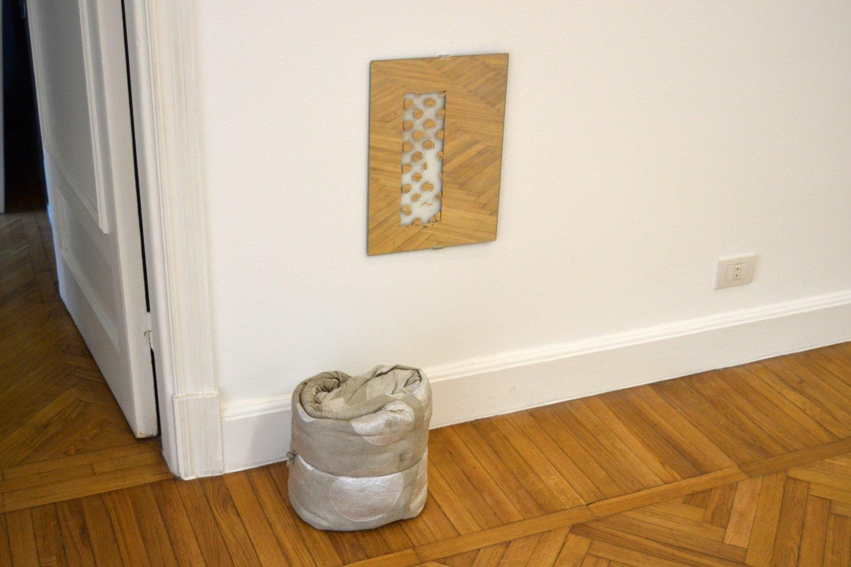 Installation shot, Vacuum formed, 2014.