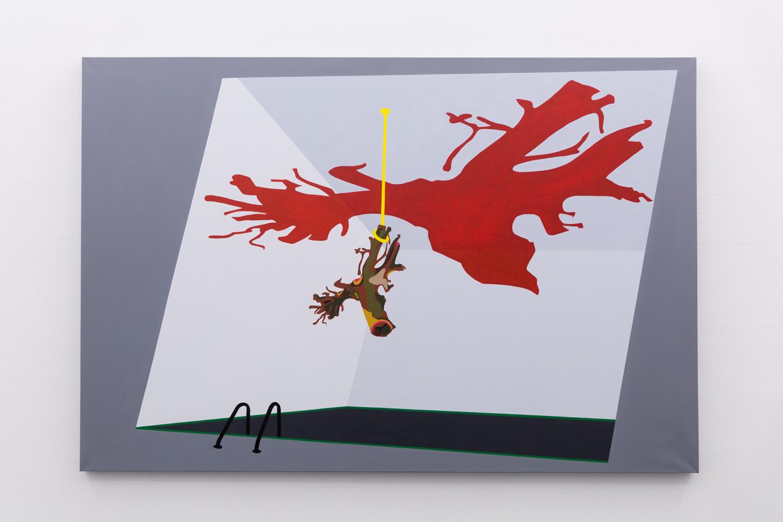 Bark #2, 2018, Acrylic on canvas, 108 x 160 cm