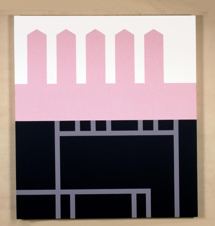 Untitled, 1998, acrylic on canvas, 105 x 95 cm