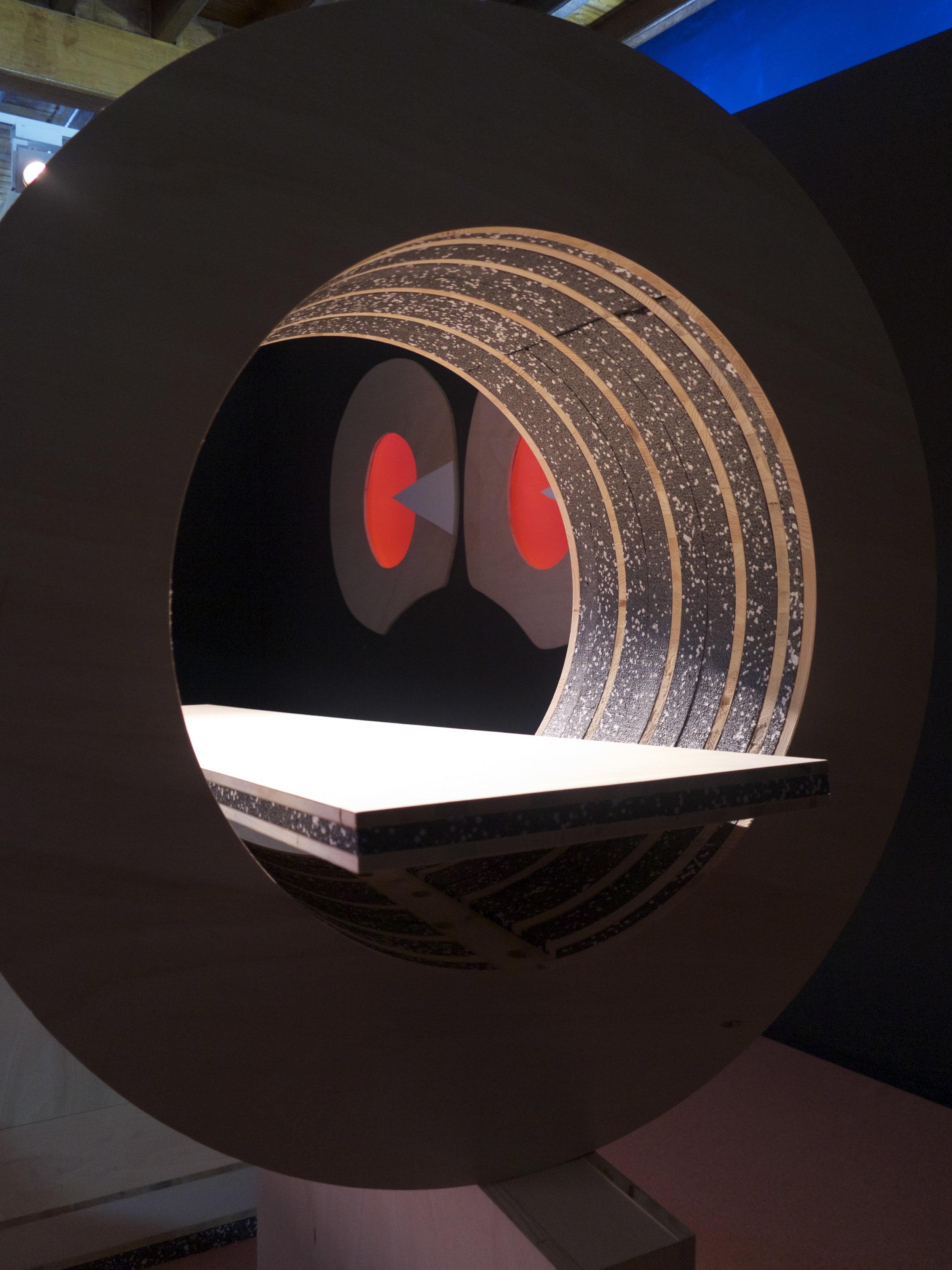 Antedoom installation view from Sharjah Biennial 13, 2017