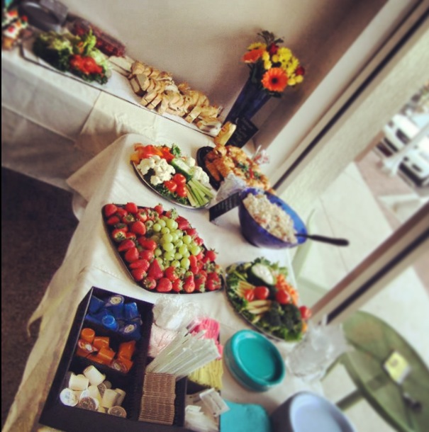 Fantastic Food Spread Thank you Diana:)