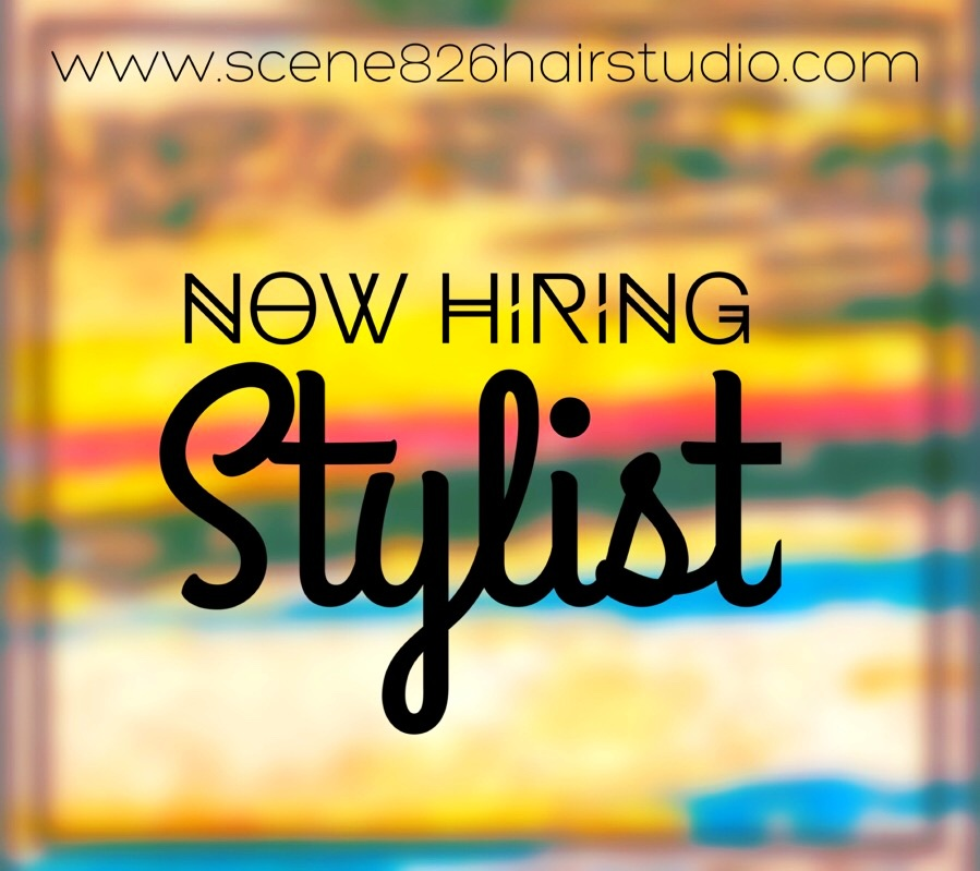 The Scene has a chair open & we're looking for a creative, motivated hair stylist with clientele willing to build more! Are you looking for a    salon with great team work   , a central location, and a trendy, fresh, always learning atmosphere!? Yes, that's The Scene!!!    Click the image above to fill out our interest form, or email: Jessica @:  jesscene@outlook.com with 100% confidentiality.