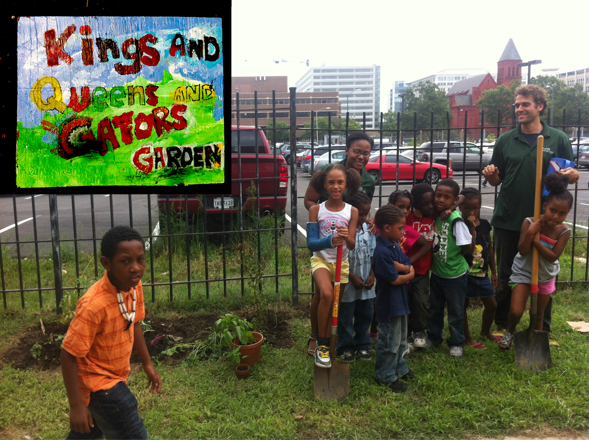 Kings and Queens and Gators Garden