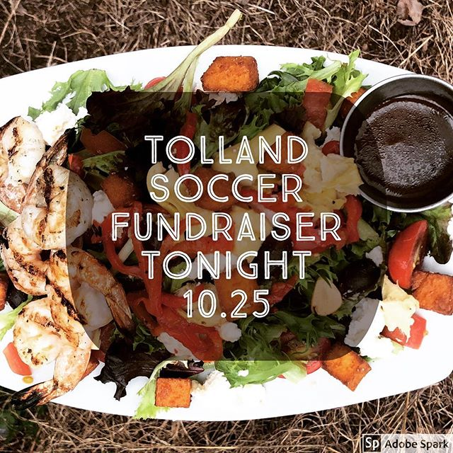 come support our local soccer squad! dine in or takeout all night! #tolland #soccer #kickit