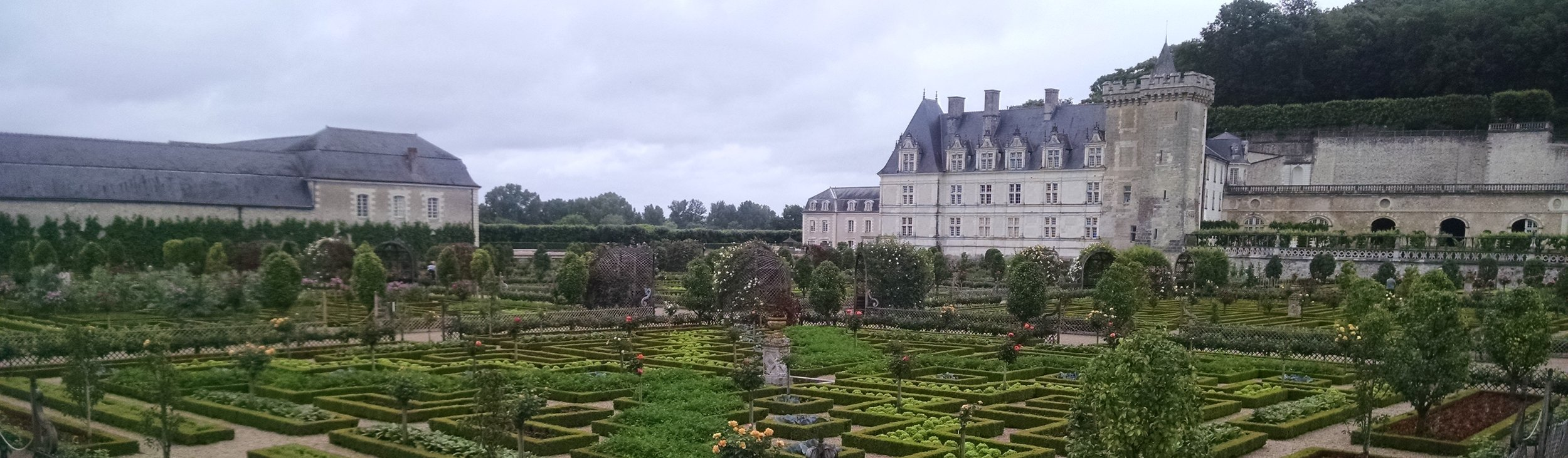 I was fortunate enough to visit this castle and gardens this summer in France.  Remarkable!
