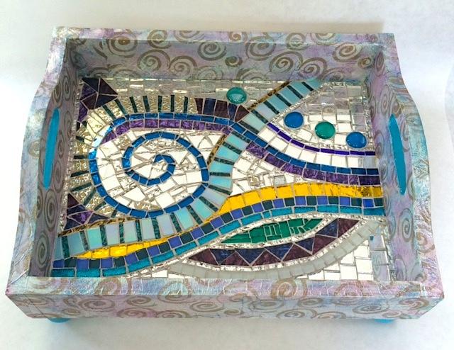Mosaic Tray by Heidi Borchers