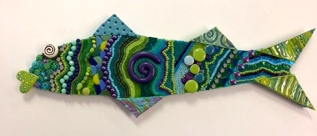 Mosaic Fish by Heidi Borchers