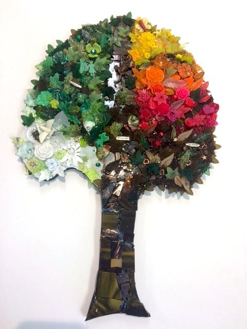 Mosaic Tree by Heidi Borchers