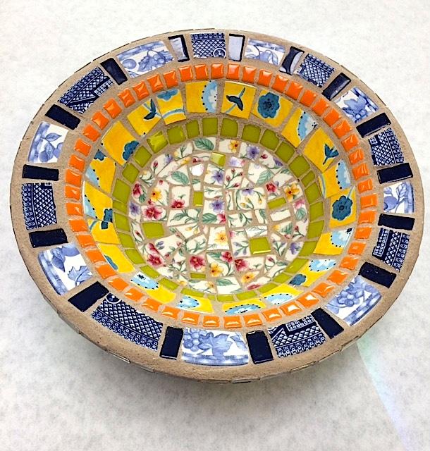 Mosaic Bowl by Heidi Borchers