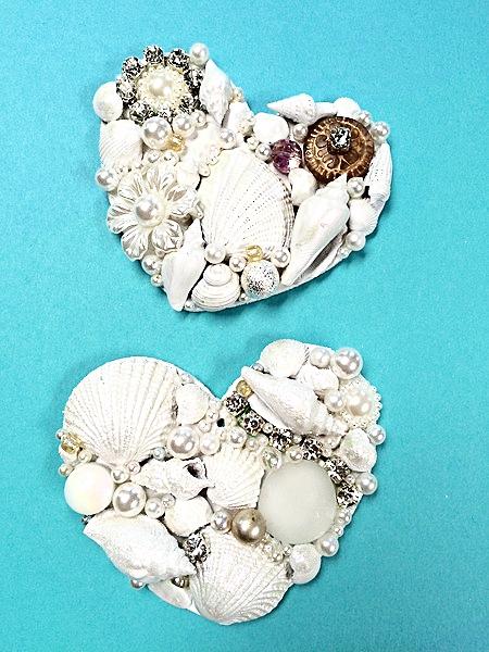 Mosaic Hearts by Heidi Borchers