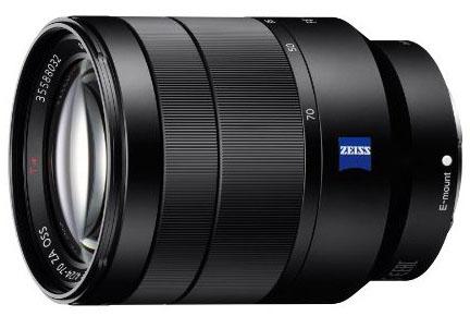 SonyVario-Tessar T* FE 24-70mm f/4 ZA OSS Lens
