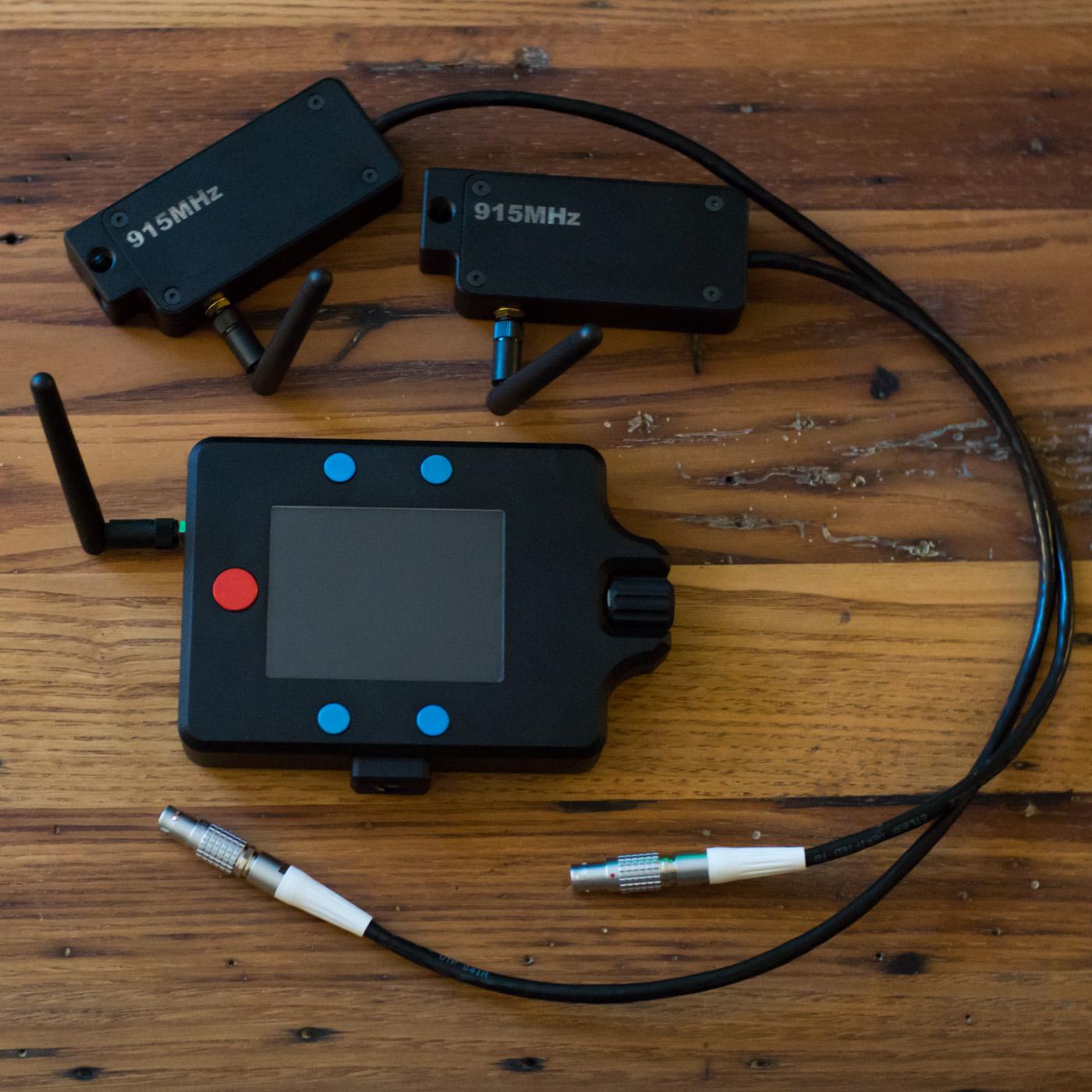 Alexaremote Control Unit and Transceivers for 2 Cameras