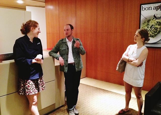 Dawn Perry and Matt Gross at Bon Appetit | Brooklyn Atlas