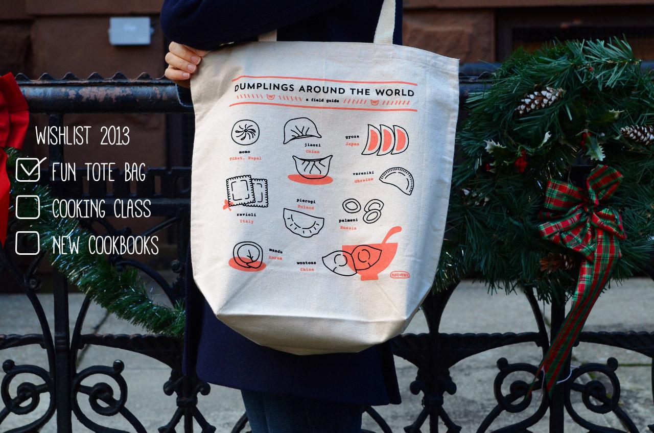 Dumplings Around the World Tote Bag   Plate & Pencil