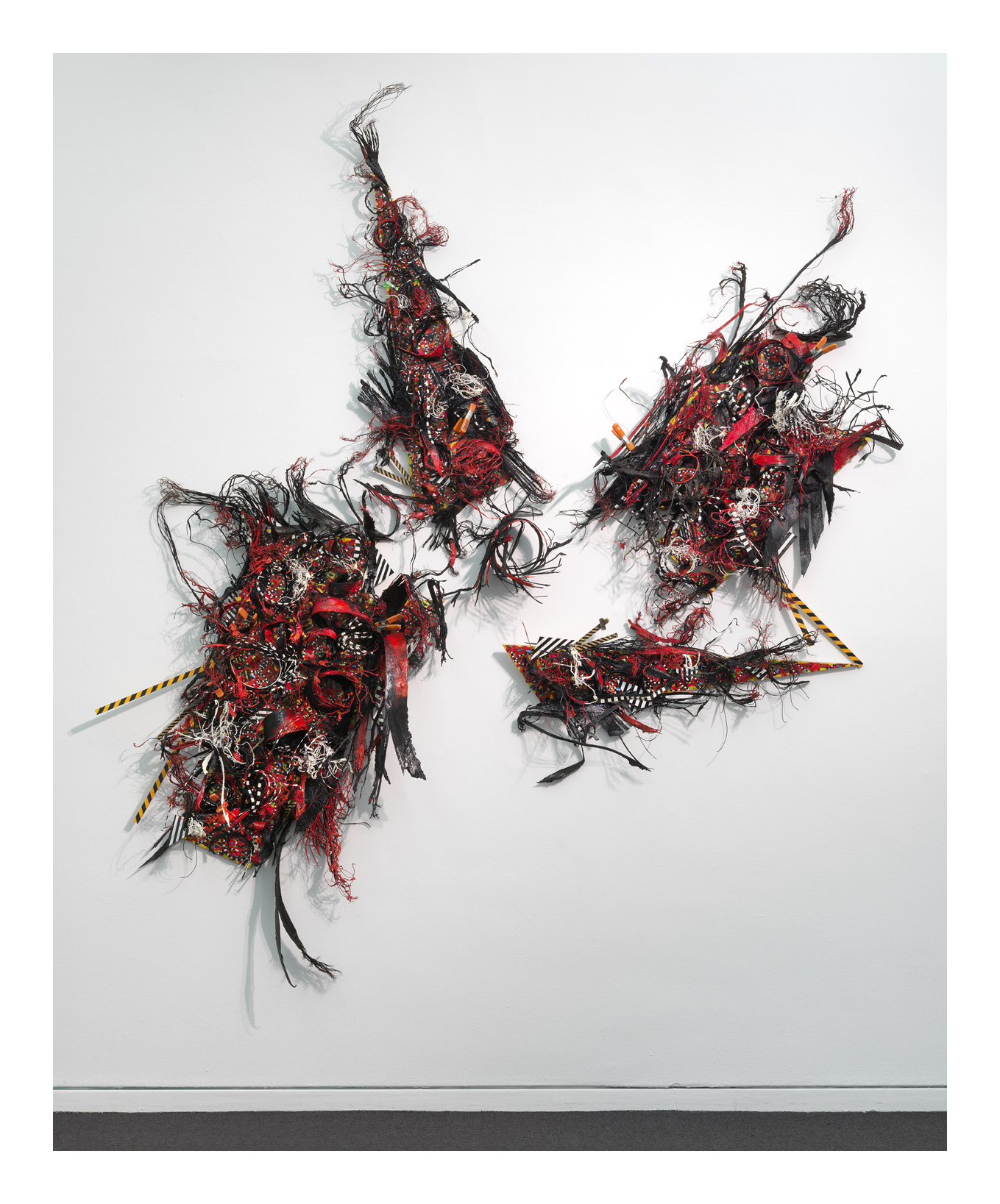 """""""BLOW-OUT"""" Catching Fire (#412)  , 14' X 8', m/m on panel."""