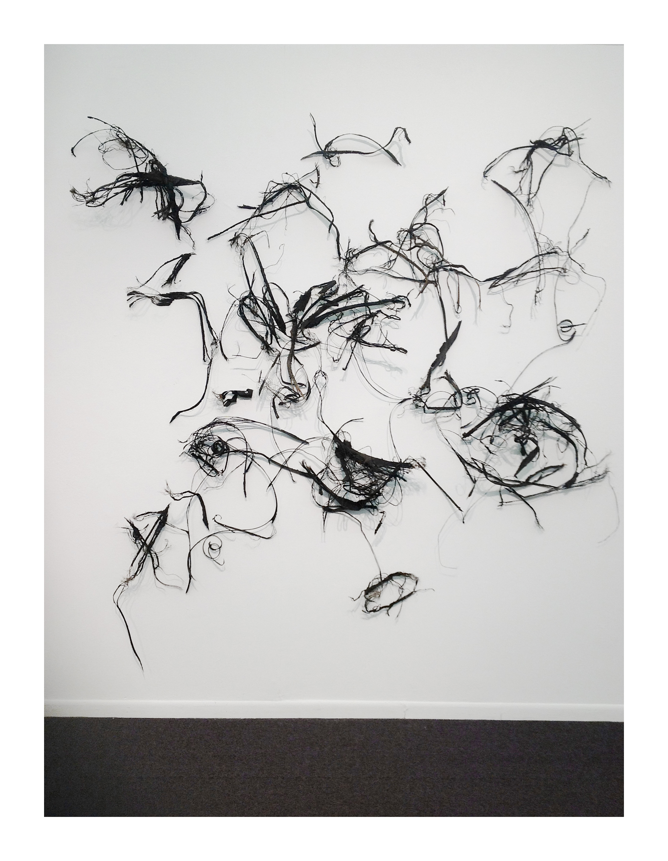 """""""BLOW-OUT"""" ,   Wind Language Diptych (#612 B)"""