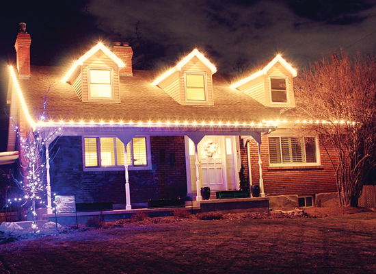 Mott's Landscaping-Holiday Lighting