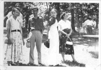South Asian students at a picnic in Chicago, circa 1959. Courtesy of SAAPRI.