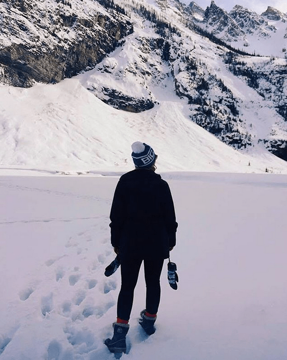Exploring gorgeous Banff
