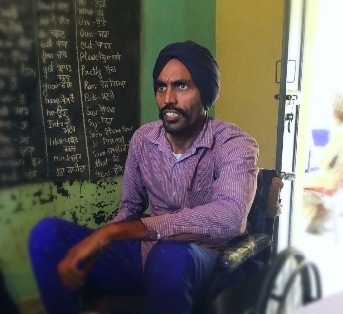 Gurdeep - Gurdeep is a 36-year-old year-old man who has multiple sclerosis. Read more...