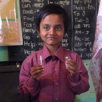 Balraj - Balraj is an 8-year-old boy with type-1 diabetes. Read more...