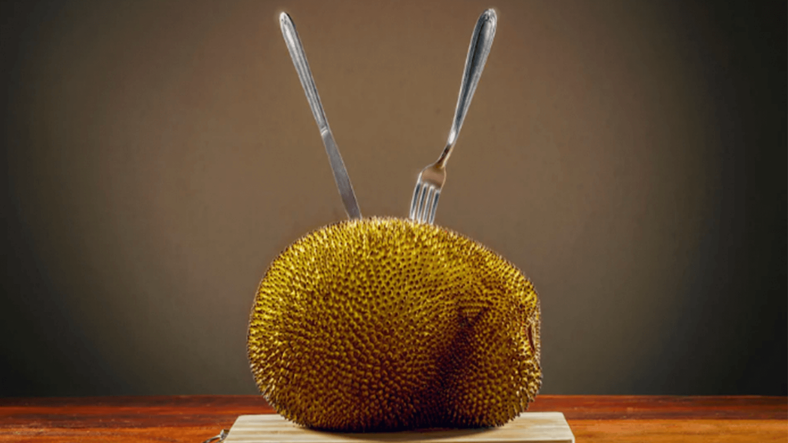 The flesh of this spiny fruit is often used as a meat substitute CREDIT: KTSDESIGN/SCIENCE PHOTO LIBRARY
