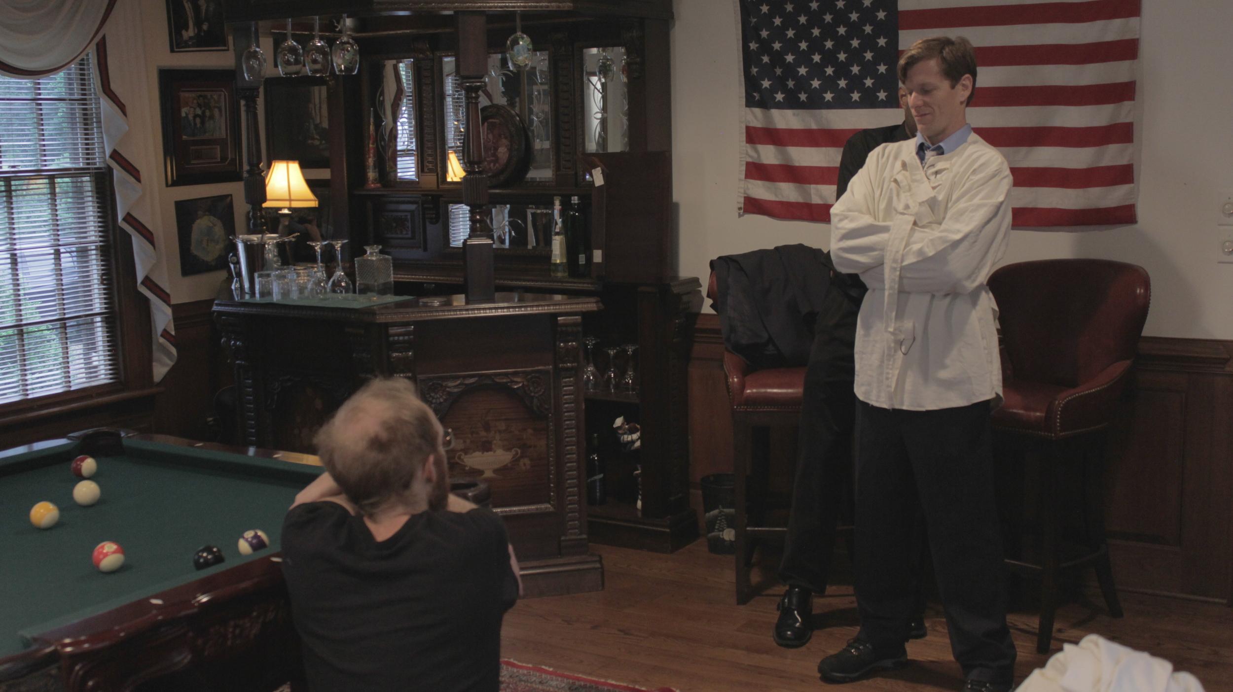 Preparing for the Science Team Elders Scene