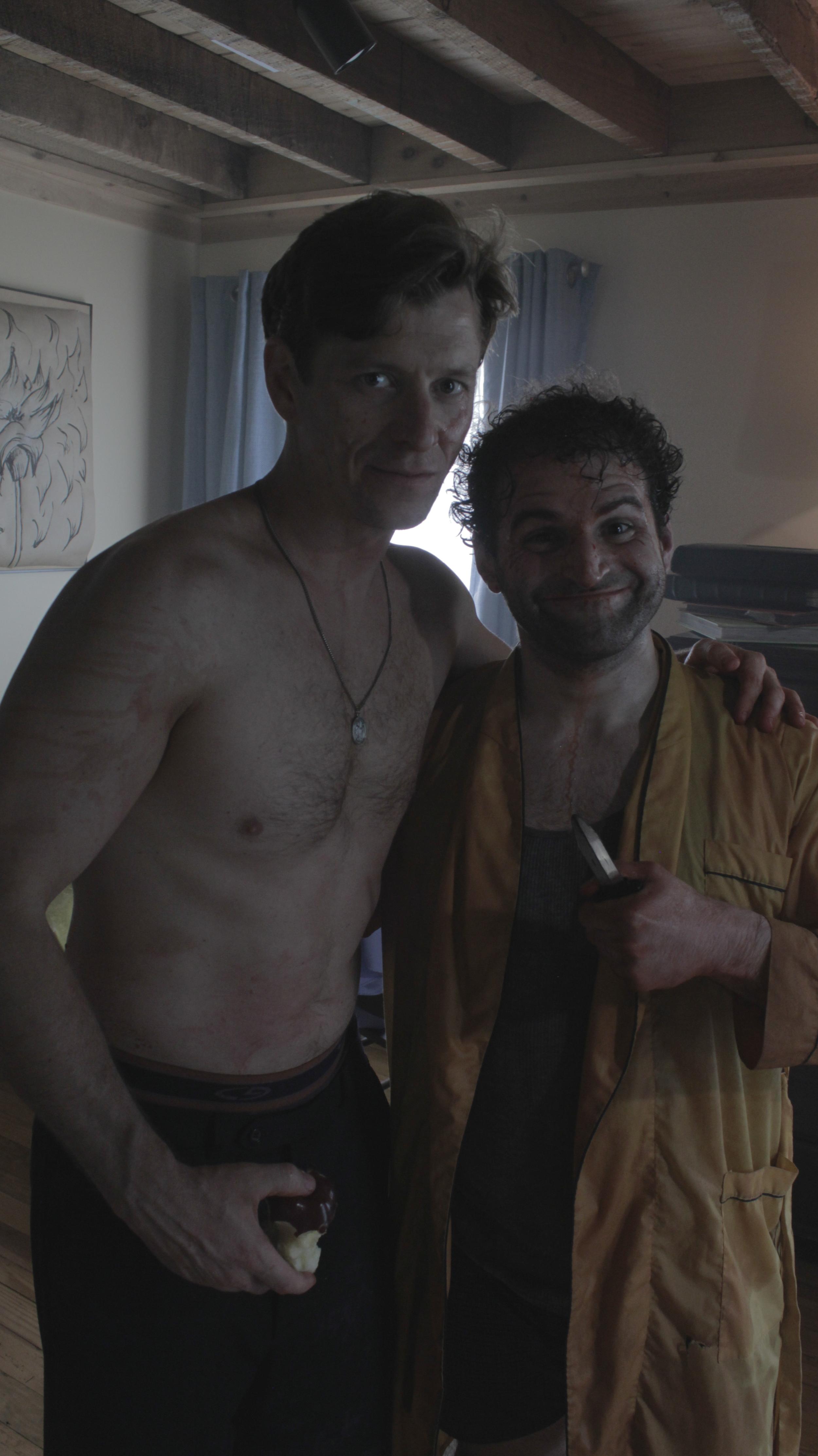 "Richard Spencer (""Joey Tweed"") and Vito Trigo (""Chip"")"