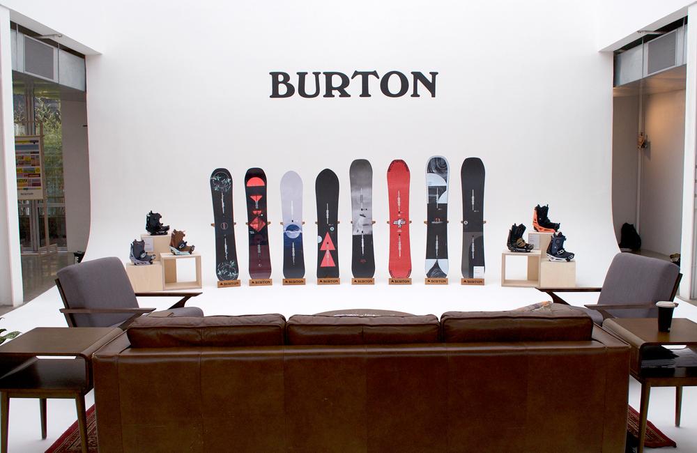 Burton Showroom -