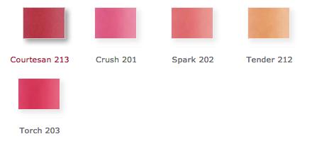 vapour organic beauty aura multi-use blush classic shades