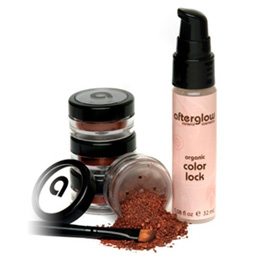 afterglow organic infused color lock turns powder into liqpid with a serious staying power