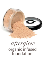 Afterglow organic infused foundation