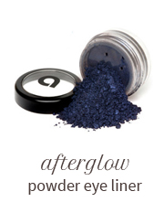 Afterglow powder eye liner