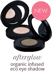 Afterglow organic infused eco eye shadow