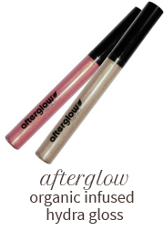 Afterglow organic infused hydra gloss