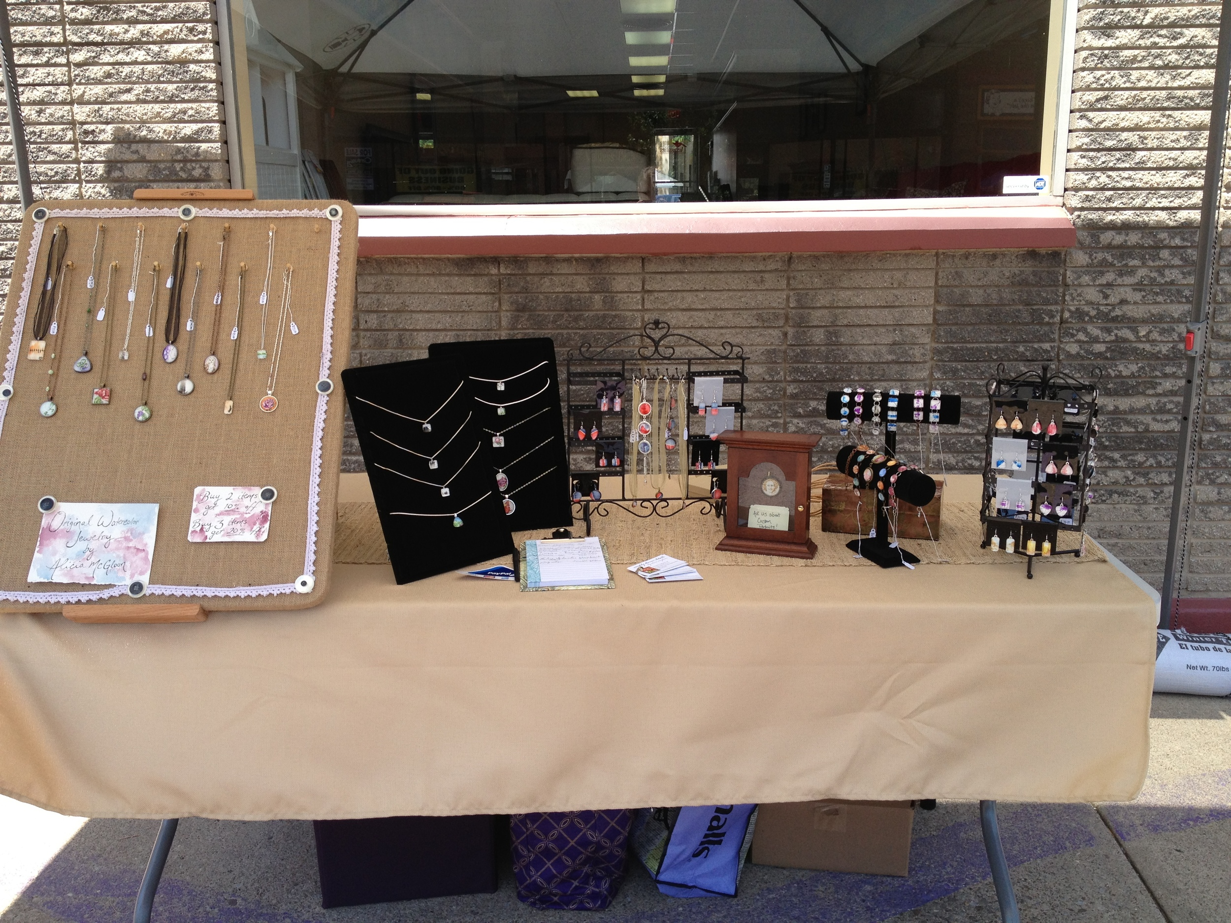 Small Business Sidewalk Sale - 6.15.13