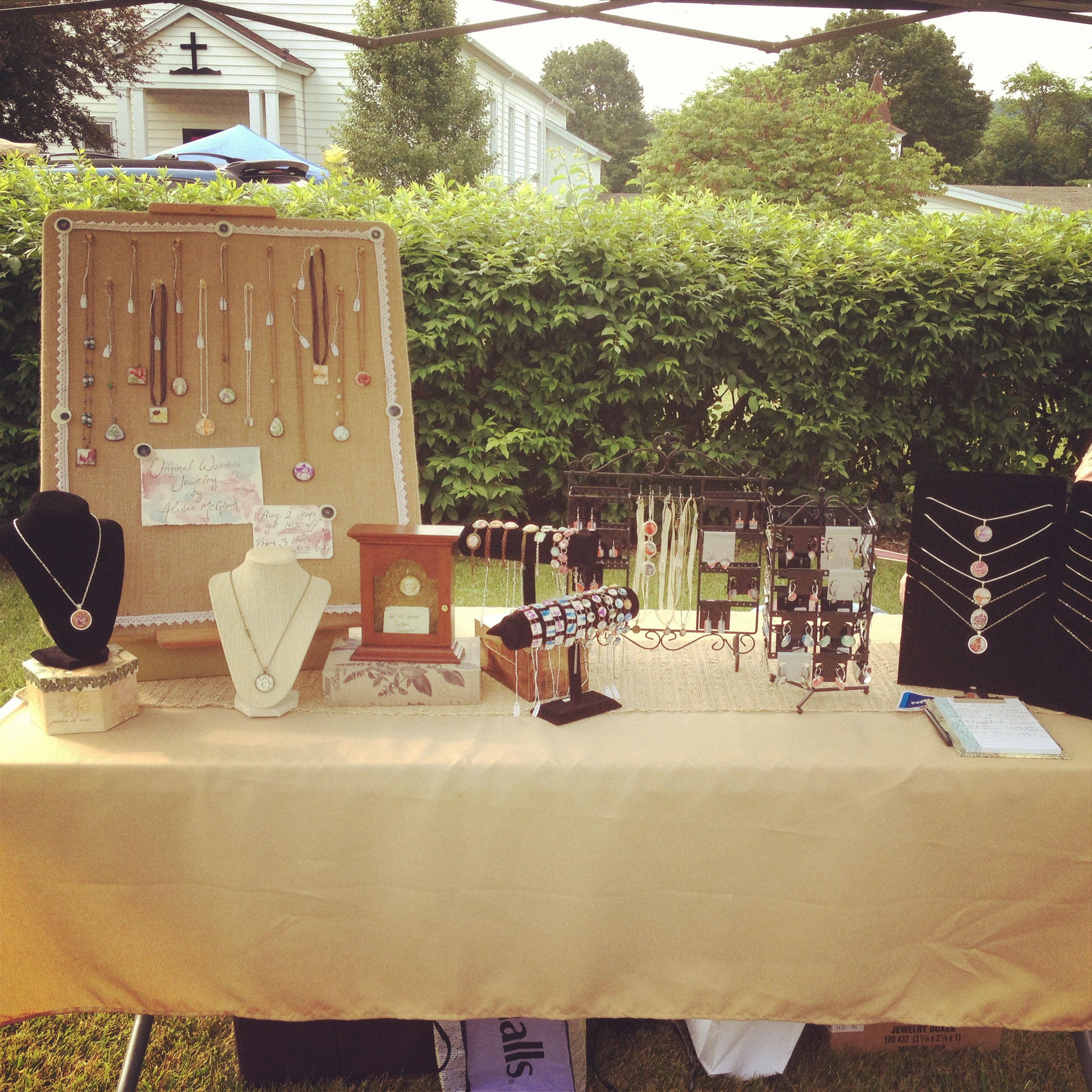 Fairmount Church Craft Fair/Flea Market - 6.22.13