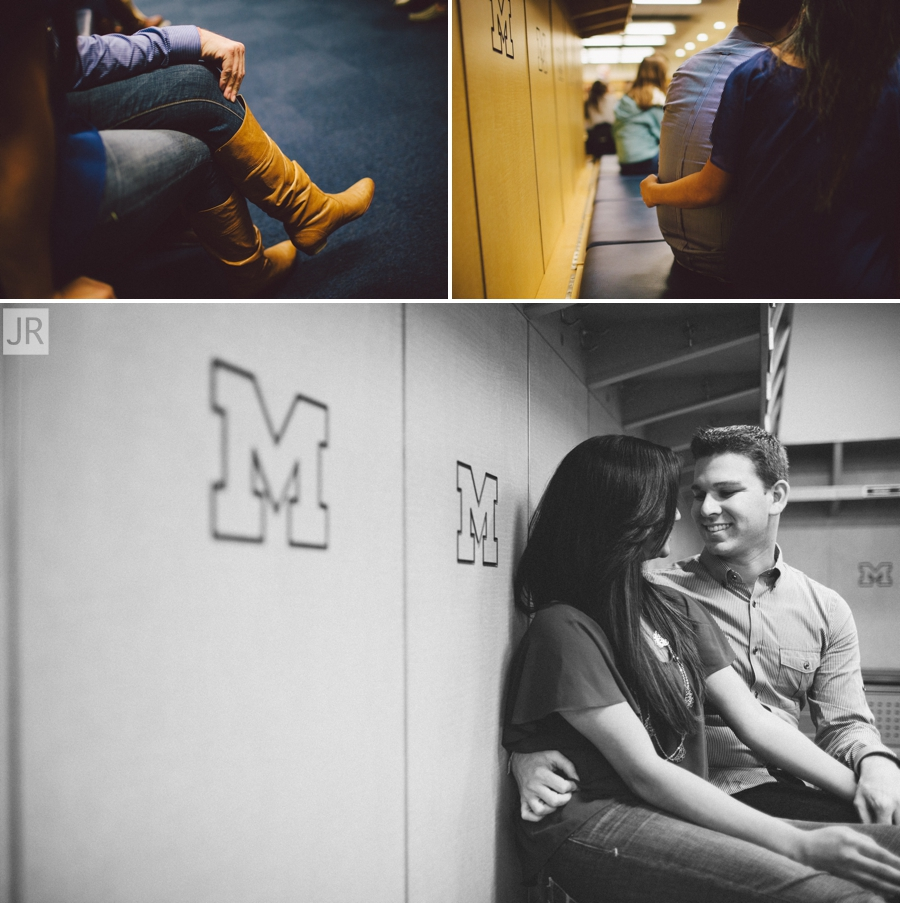 Dipal+Atul_Engagement_Session_Ann_Arbor_The_Big_House_003