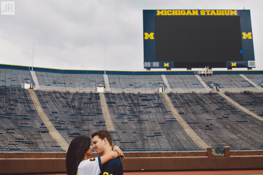 Dipal+Atul_Engagement_Session_Ann_Arbor_The_Big_House_015