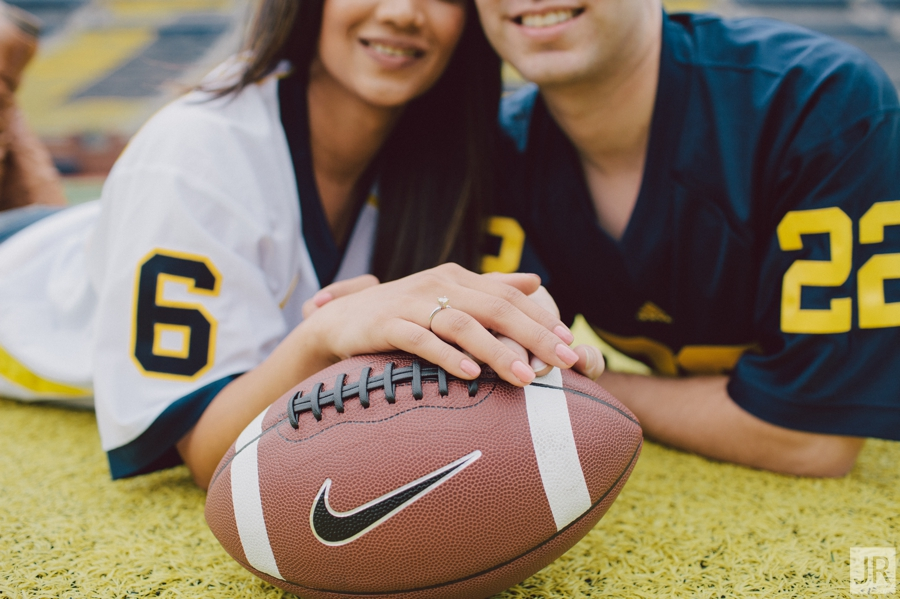Dipal+Atul_Engagement_Session_Ann_Arbor_The_Big_House_The_Big_House_023