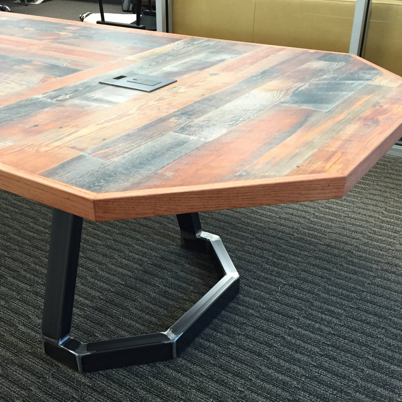 Rustic Conference Table -