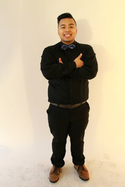 """Name: Rico Baltazar Jr.    Position: Infinite PASAbilities Co-Artistic Director   Year: 3rd Year   Major: Communications   Hometown: West Covina, CA   PASA Family: QTPA2T FAM   Favorite Food:  KBBQ   Favorite Quote:  """"No matter what people tell you, words and ideas can change the world."""" - Robin Williams"""