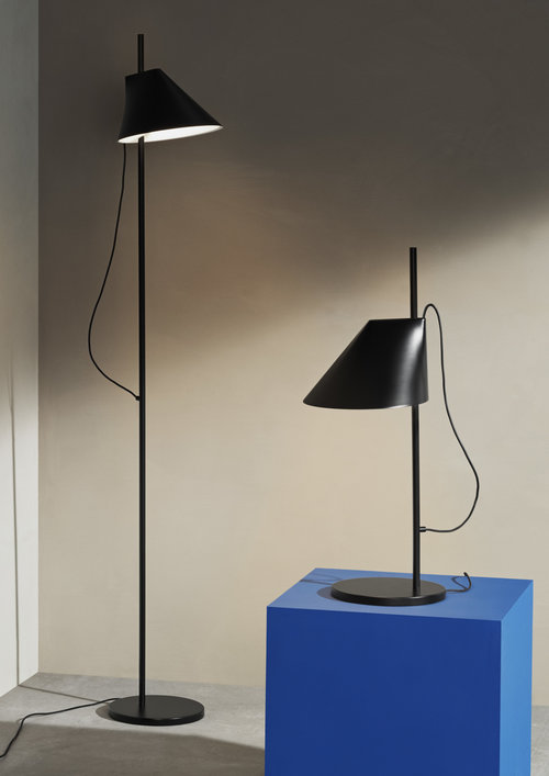 half off 647d1 90b2b Gamfratesi Black 'Yuh' Floor Lamp for Louis Poulsen — Two Enlighten