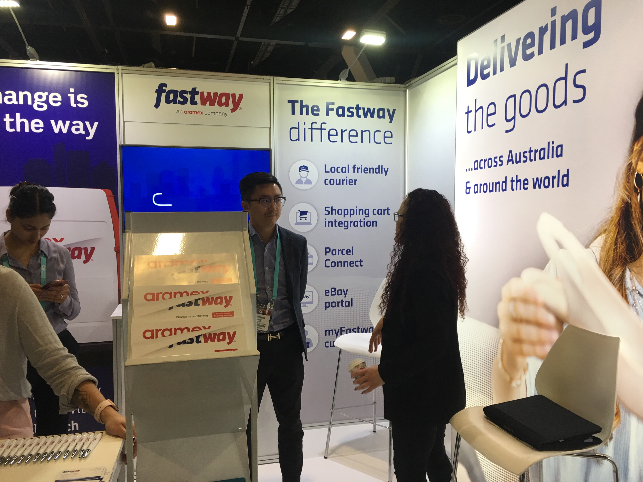 Fastway Has Rebranded To Aramex