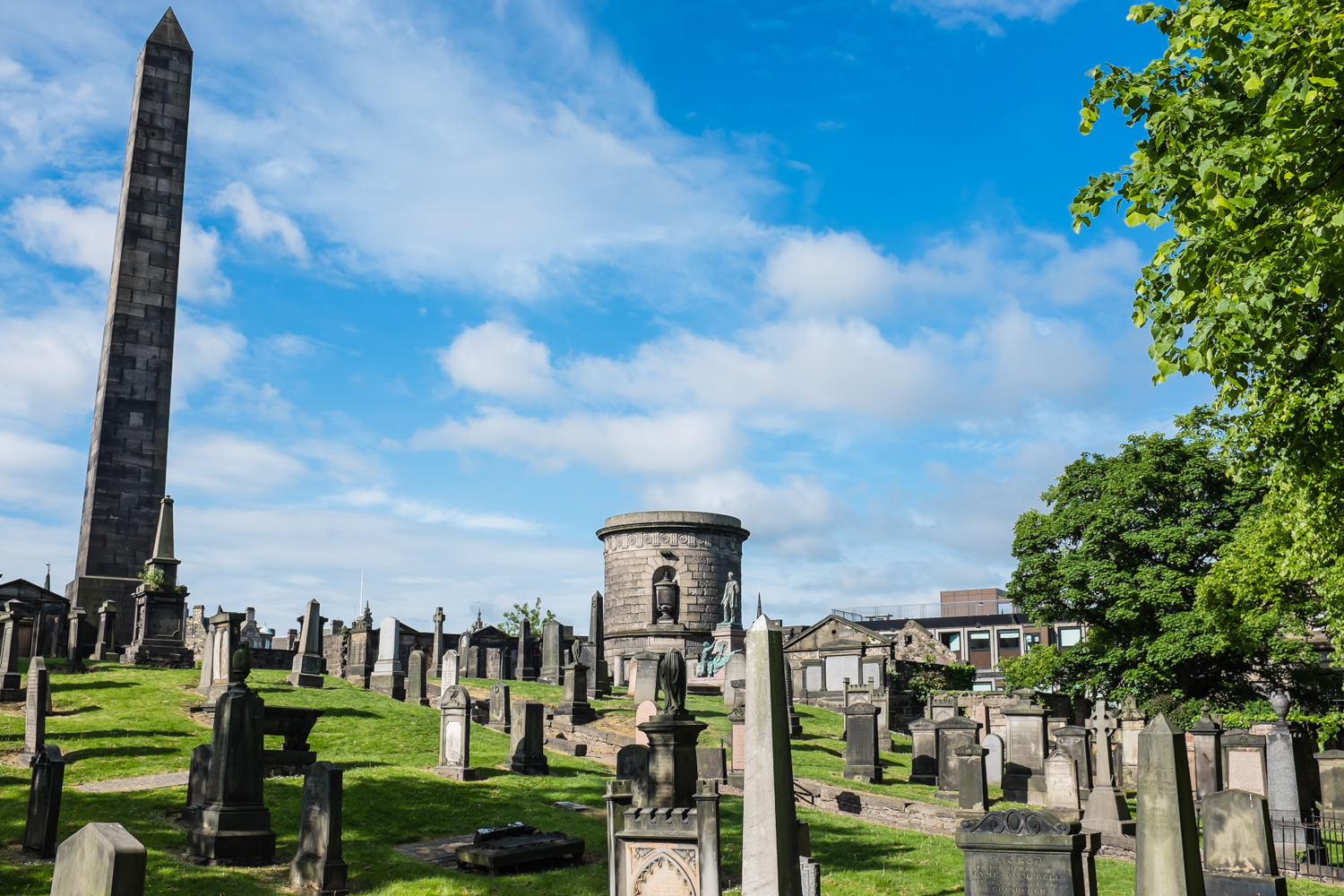 Old Calton Hill Cemetery