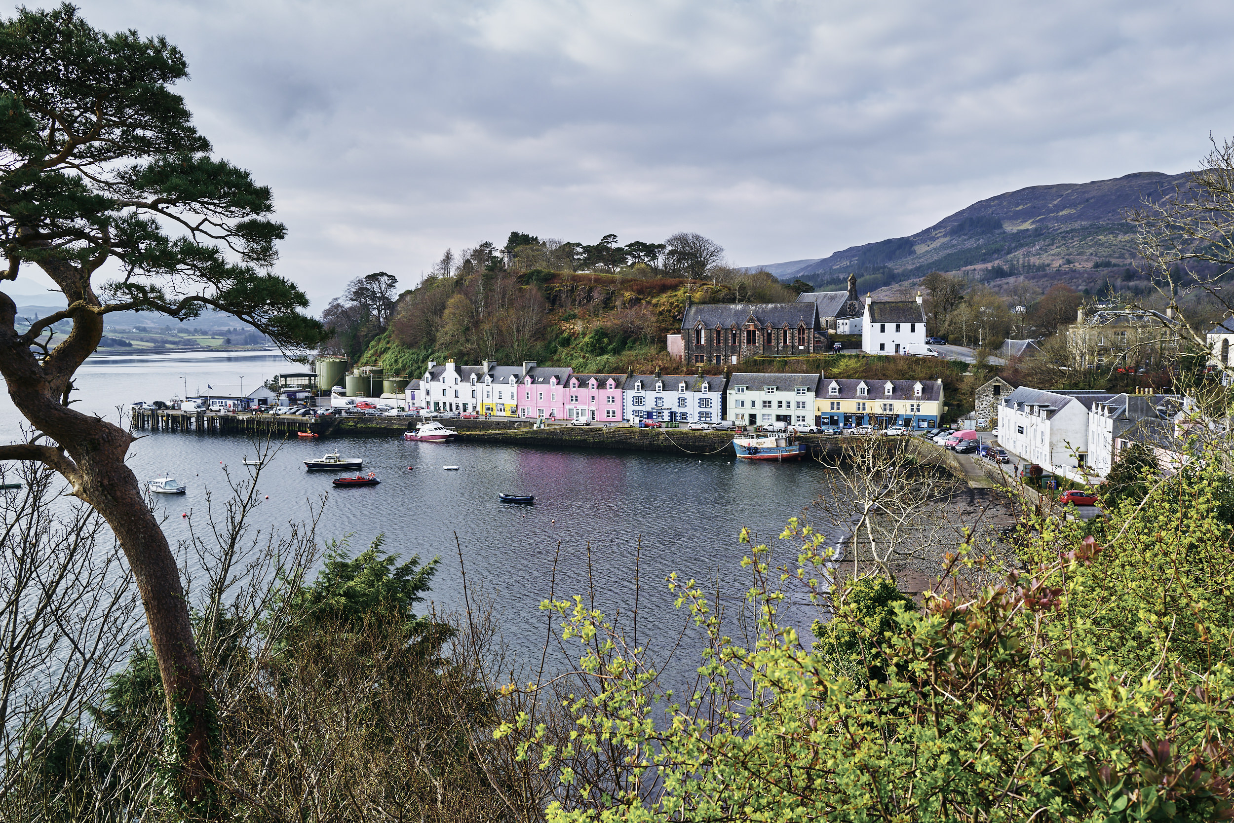 Quickly snapped this on our way out of Portree. It's a shame we didn't get to explore the town we stayed in for three days. Ah well… There's always next time…