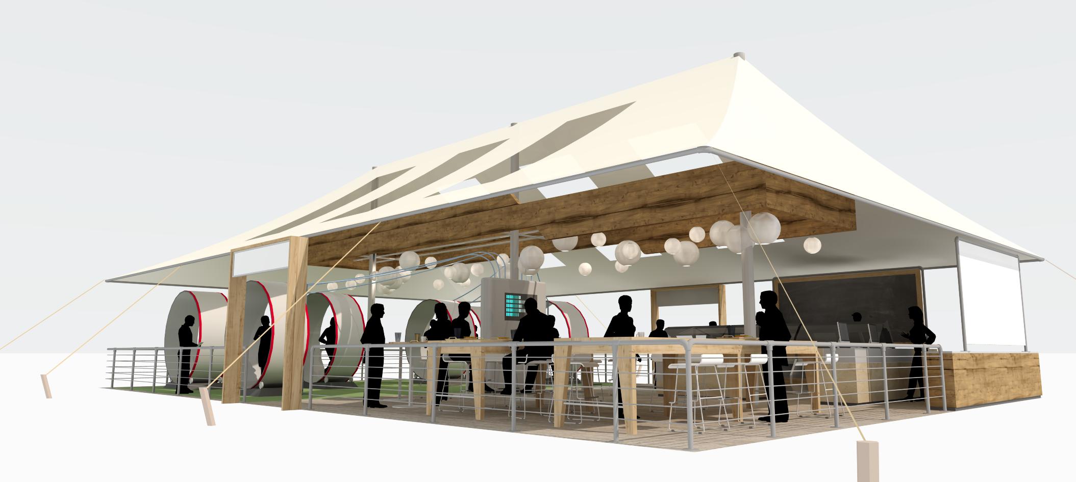 Safeway Tent. Sam Bowman Design.