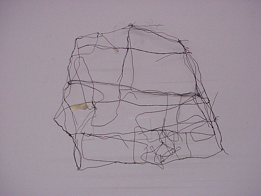 """Jon Ross : """" wire house final on wall A """". Image via flickr,  creative commons (  CC BY-ND 2.0 )  ."""